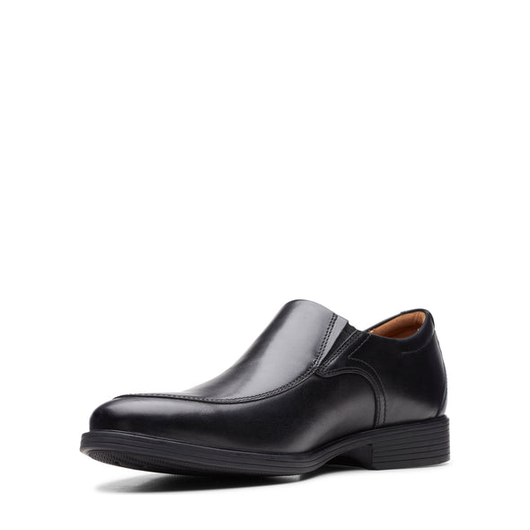 Clarks Whiddon Step Black Leather