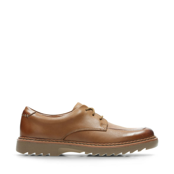 Clarks Asher Grove Tan Leather
