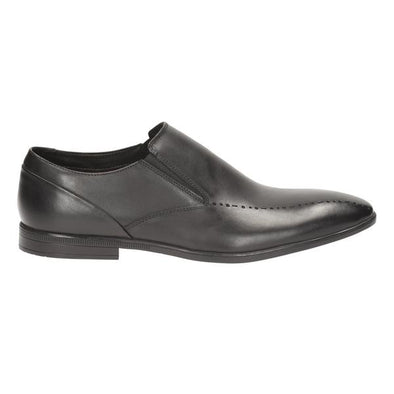 Clarks Bampton Free Black Leather