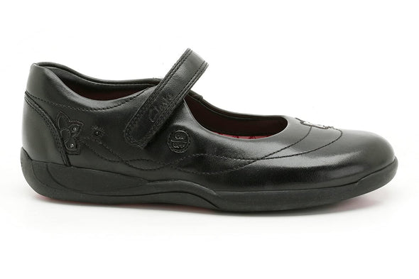 Clarks BUZZ TIME INF Black Leather