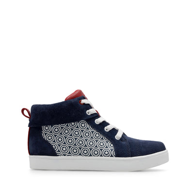 Clarks City Hero Hi Blue Suede