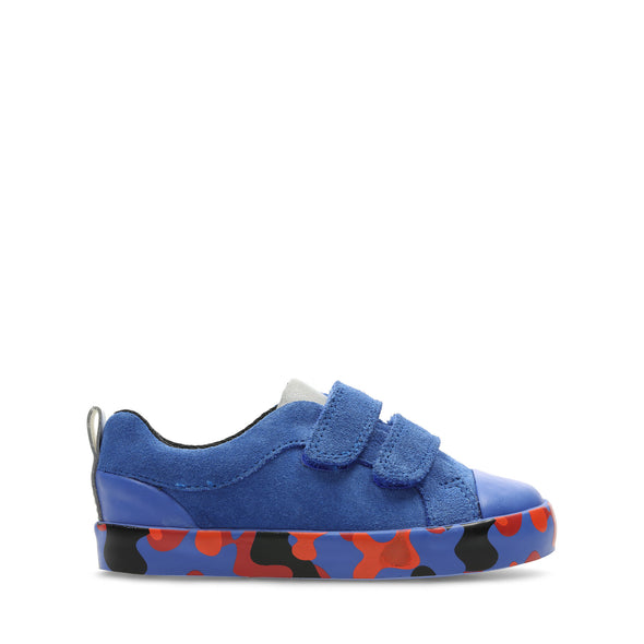 Clarks City Vine Lo Blue Camo