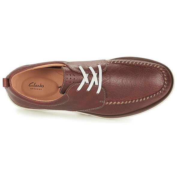 Clarks Edgewood Mix Mahogany Leathe