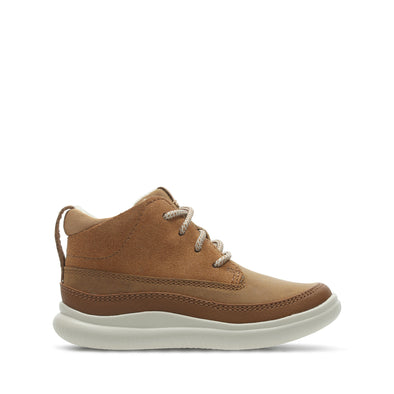 Clarks Cloud Air Fst Tan Combi Lea