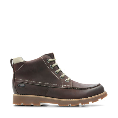 Clarks Comet Moon GTX Dark Brown Lea G