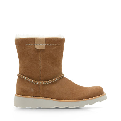 Clarks Crown Piper Tan Suede