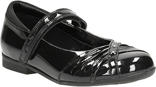 Clarks Dolly Shy Jnr Black Pat