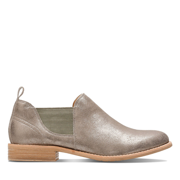 Clarks Edenvale Page Pewter Suede
