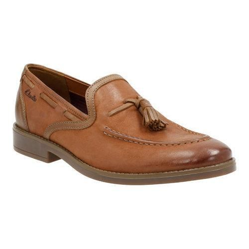 Clarks Garren Style Tan Leather