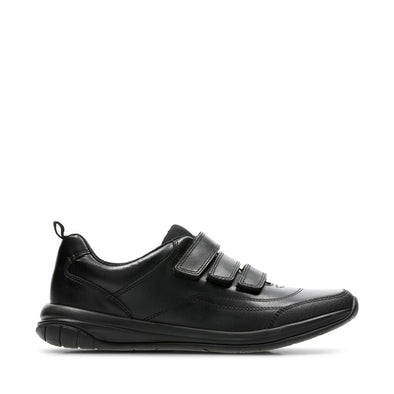 Clarks Hula Thrill Black Leather