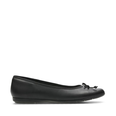 Clarks Jesse Shine Black Leather
