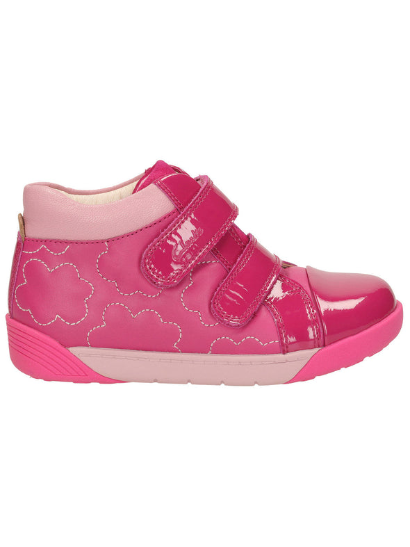Clarks LilfolkEmy Pre Pink Leather