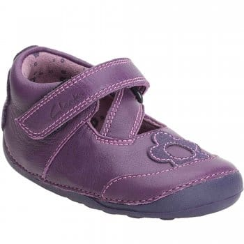 Clarks Little Lily Purple