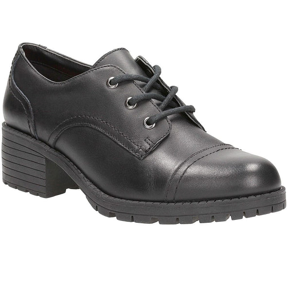 Clarks Musca Step BL Black Leather