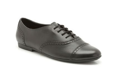 Clarks No Ties Black Leather