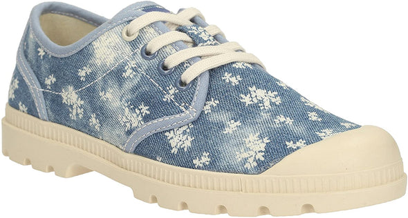 Clarks Pictor Sky Jnr Denim Canvas