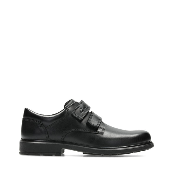 Clarks Remi Pace Inf Black Leather