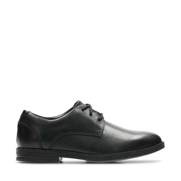Clarks Rufus Edge BL Black Leather