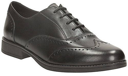 Clarks Sami Flash BL Black Leather
