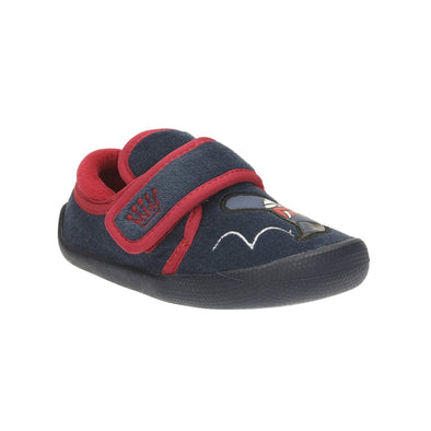 Clarks Shilo Drum Fst Navy Synthetic