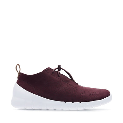 Clarks Sprint Elite Burgundy Nubuck