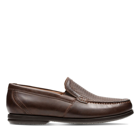 Clarks Un Gala Free Brown Leather