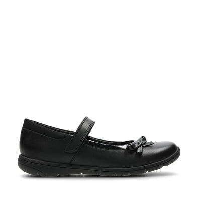 Clarks Venture Star Black Leather