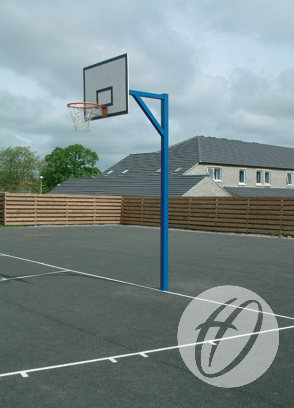 Heavy Duty Basketball Goals - Mdf Backboards