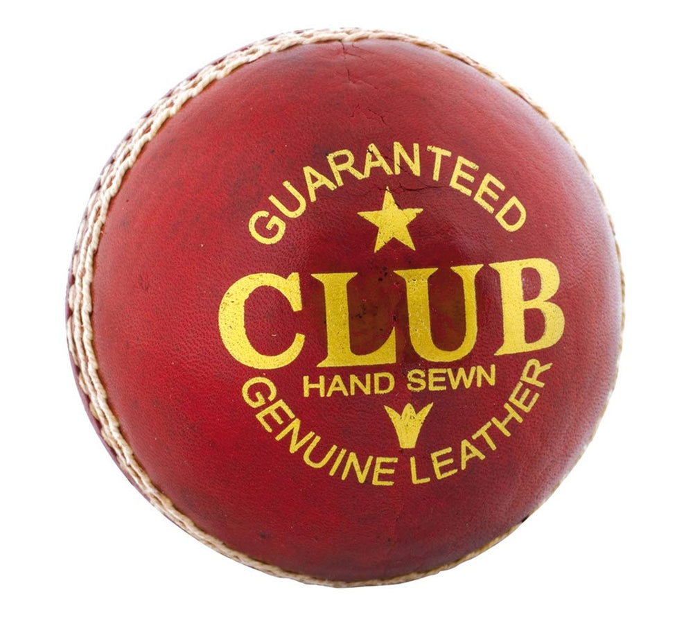 Readers Unisexs Club Match A Cricket Ball Mens Red