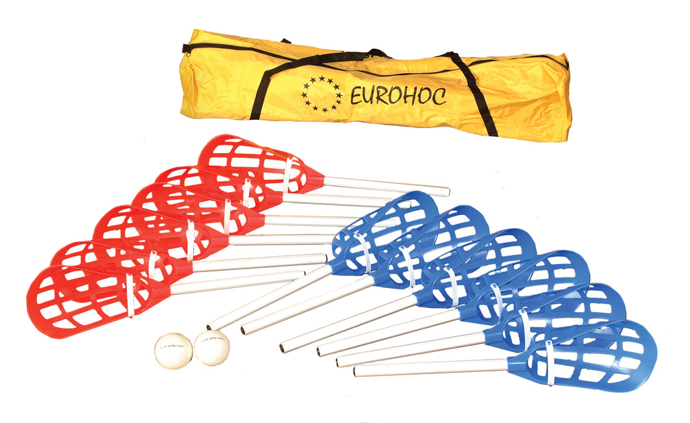 Eurohoc Senior Pop Lacrosse Set