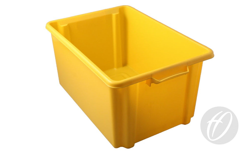 Yellow Storage Container