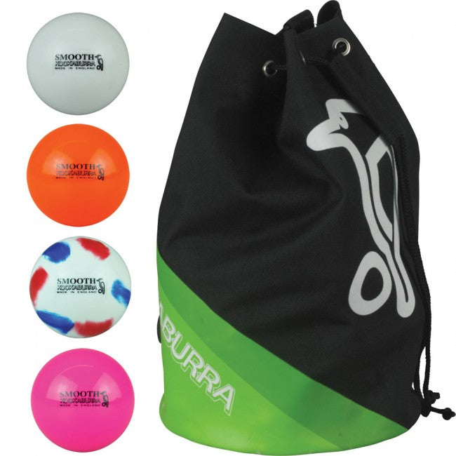 Kookaburra Burra Smooth 12 Pack & Holdball