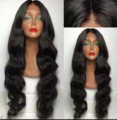 Mula Body Wave 150% Density Lace Front human Hair Wig - Mula Hair