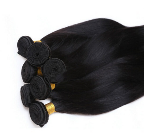 Straight Human Hair 10 Bundles - Mula Hair