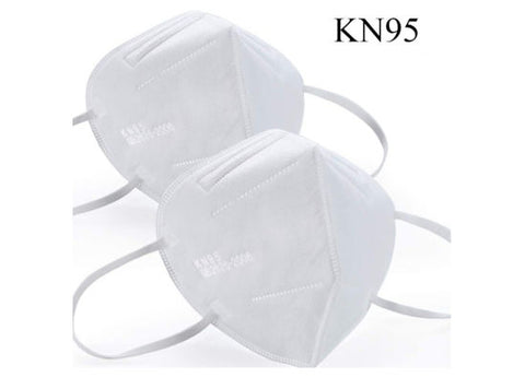 KN95 Mask white & colored available 150 mask