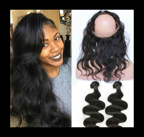 Body Wave 360 Lace Frontal - Mula Hair