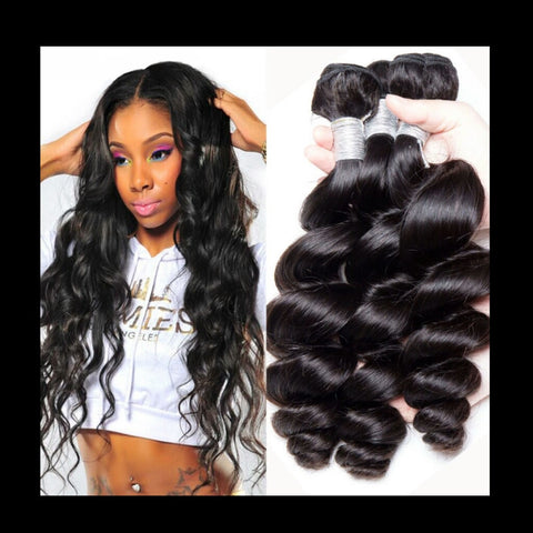 Loose Wave Human Hair - Mula Hair
