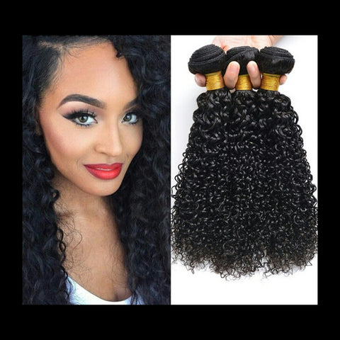 1 Bundle Jerry Curly Human Hair - Mula Hair