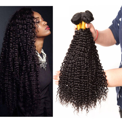 kinky Curly  Human Hair 6 Bundles - Mula Hair
