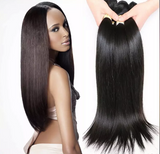 "11 Bundles Silky Straight Human Hair 10"" - 30""  Brazilian, Malaysian, Peruvian & Indian - Mula Hair"