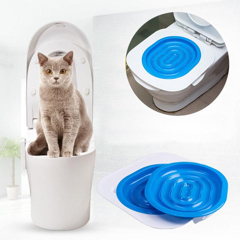 Kit d'apprentissage toilette pour chat