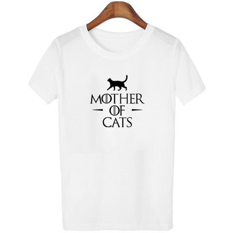 "T-shirt ""Mother of Cat"""