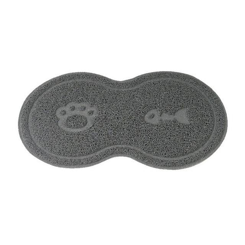 Tapis antiglisse pour gamelle de chat