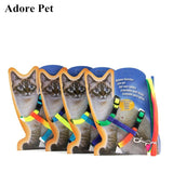Harnais pour chat multicolor
