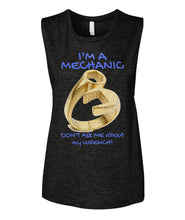 Don't Ask Me About My Wrench Women's Muscle Tank