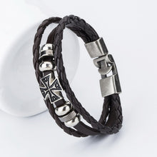 Men's Bracelets Hot  Bangle Handmade Leather Bracelets Hooks Men's Bracelets