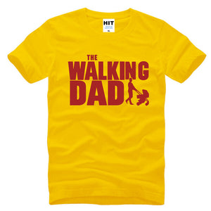The Walking Dad Men's Funny T-Shirt