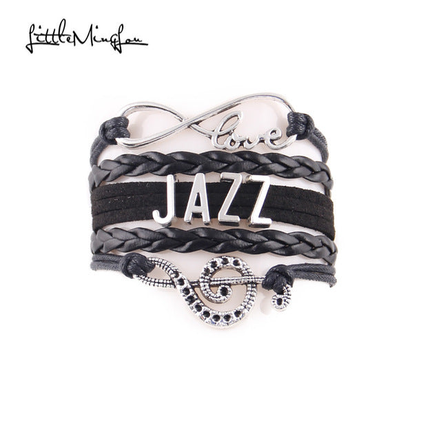 Jazz music Bracelet (Black)