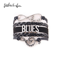 Blues music Bracelet (Black)