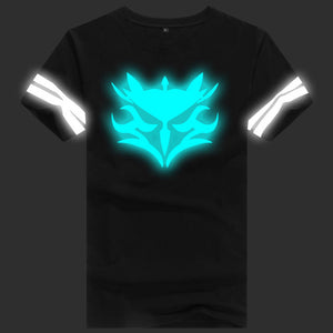 Luminous Dark saber Short T-shirts